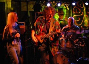 Ann & Roger McNamee with John Molo on drums.