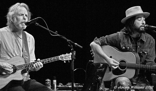 Bob Weir and Jackie Greene at Paramount Theatre, Dec  13