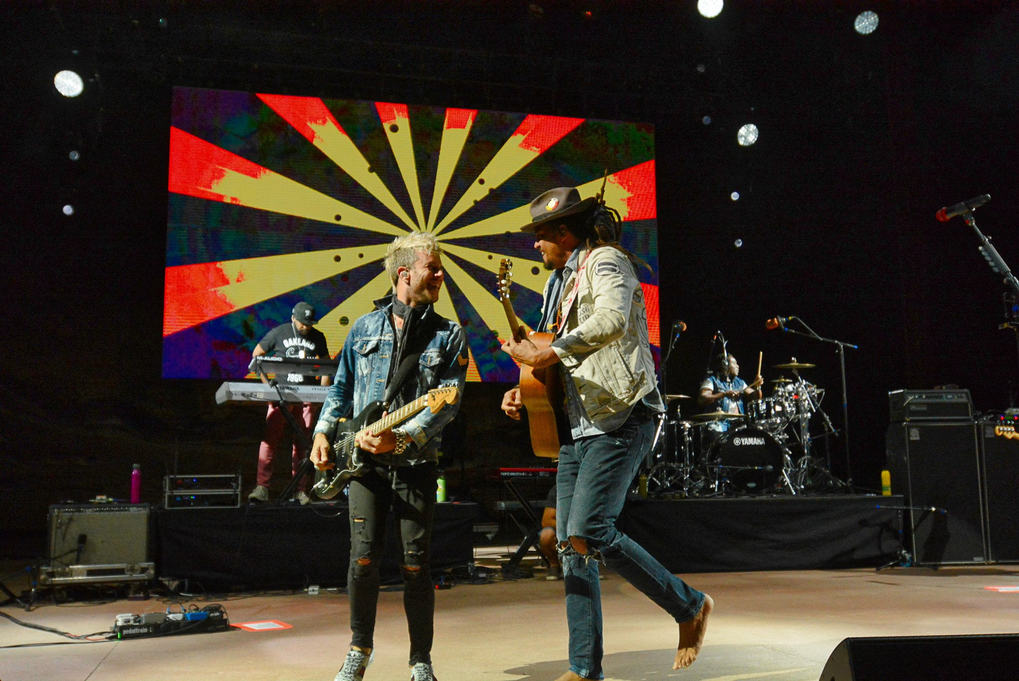 Concert review: Michael Franti's love inspires fans at sold-out Red Rocks show
